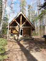 Trapline for sale / with log cabin