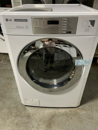 LG White Front Load Commercial Washer 3.6cuFt 120V 60HZ 5A,GCWP1069QS [Open Box]