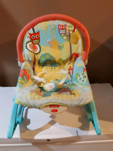 Fisher price rocking chair / vibrating seat