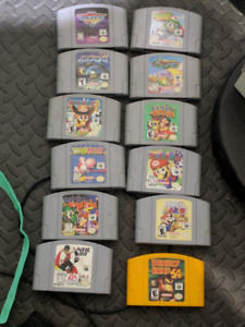 Nintendo 64 GAMES FOR TRADE SEND ME YOUR OFFERS!
