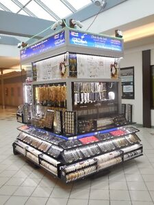 """""""REDUCED"""" to $130k MALL CART for SALE fully stocked with JEWELRY"""