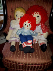 Raggety Ann and Family