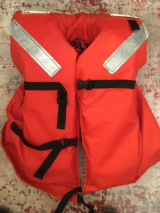 Lifejackets, heavy duty for offshore