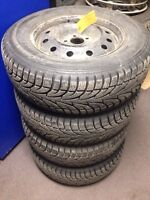 225/70R16 Wintermaster Tires on Wheels
