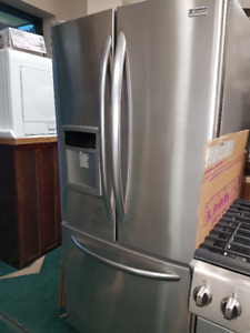 Stainless Fridge and Freezer