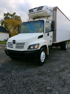 (2) Hino 308 Reefer for sale - with safety and emission