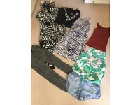 Job lot of grills clothes age 11-13 years
