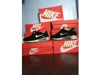 Brand new men's suede airmax 90s black and with 6-10uk