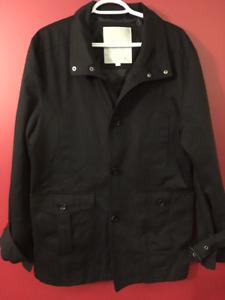 JACK & JONES Men's Black Jacket - Size Large 185/104A