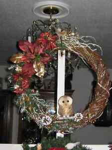 HAND MADE CRISTMAS WREATHS REDUCED FOR CH RISTMAS