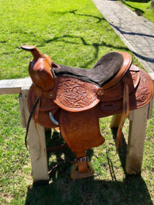 Barrel Saddle (Pleasure Racer) - great price!