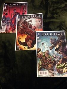 Injustice gods among us year five issues 1-3