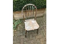 Free chair for upcycling