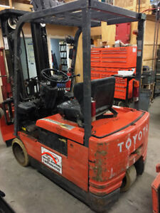 Electric Forklift Toyota / 5FBE15