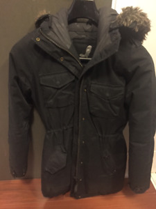 Women's Winter Parka - Black - Size Small
