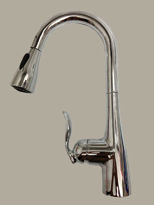 MOEN ARBOR KITCHEN FAUCET WITH PULL OUT SPOUT - CHROME - MODEL 7594C – NEW