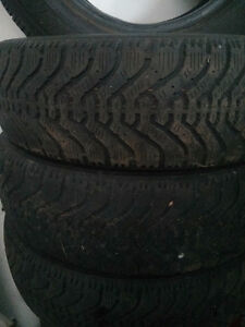 Goodyear Nordic hiver/winter tires 185 70 14 West Island Greater Montréal image 1