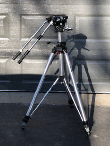 Manfrotto 058 tripod with 116 video head