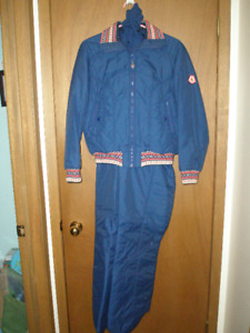 Ladies Ski Jacket and Pants Hasegg Kitzbuhel Austria Size 14 -