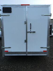 7' x 14' Tandem Axle Cargo Trailer • 7' tall! • Made in Canada Kitchener / Waterloo Kitchener Area image 7