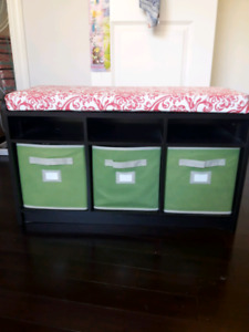 Storage Cubby and bulletin board