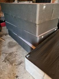 Single bed base (no mattress)