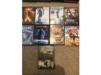 Job lot of 69 DVDs