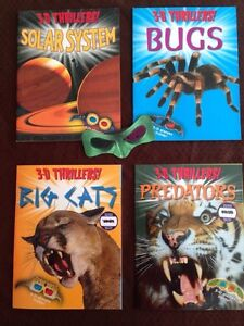 3-D books with glasses