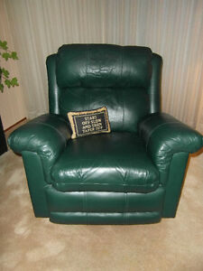Leather Lazy Boy Style Recliner