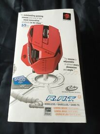 R.A.T 9 wireless gaming mouse