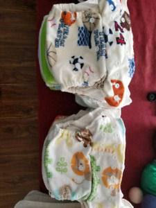 Awesome Cloth Diapers, inserts, wet bags