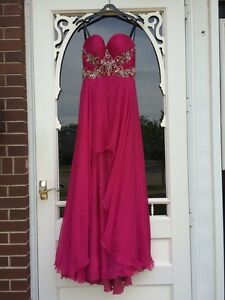 Prom Dress - Fucshia