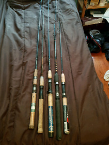 5 fishing rods in need of tip repair