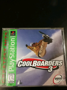 PS1 Cool Boarders $10