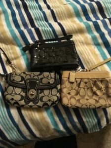 Coach Wristlets and Coach Dust Bag