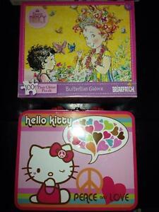 Puzzles - Fancy Nancy & Hello Kitty Windsor Region Ontario image 1