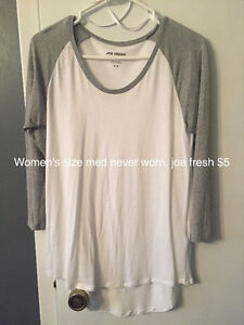 Women's clothing prices on pics size m/l