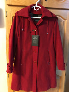London Fog lined coat- size 6P Women's
