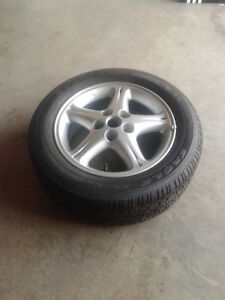 """16"""" Aluminum Alloy with Tire -- EXCELLENT CONDITION"""