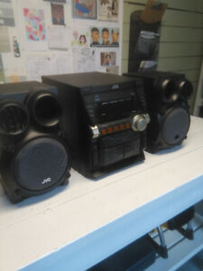 "JVC ""Boombox"" Stereo"
