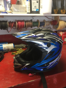 Dirt bike helmet, excellent condition