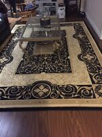 Coffee Table and Carpet