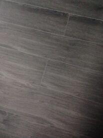 Waterproof laminated flooring
