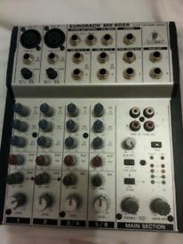 Behringer mixer.