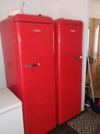 Retro Swan fridge and freezer