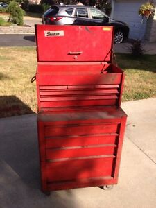 Vintage Snap On Tool Box- Great old box