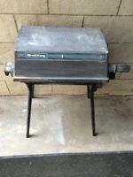Small portable broil king bbq