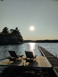 Lakefront cottage 3 bedrooms - Laurentians