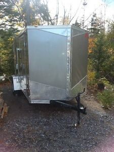 2016 enclosed trailer