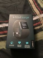 BRAND NEW SEALED IN THE BOX FITBIT SURGE SIZE LARGE :)